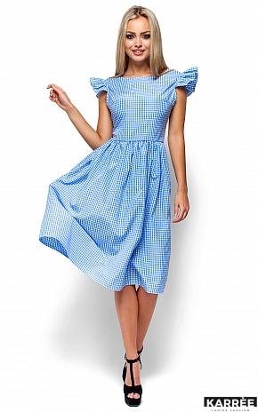 Платье Регина, Голубой - фото 4