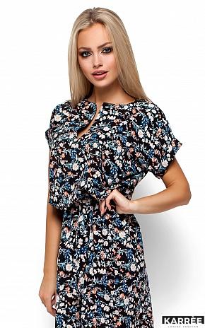 Платье Лайла, Черный - фото 2