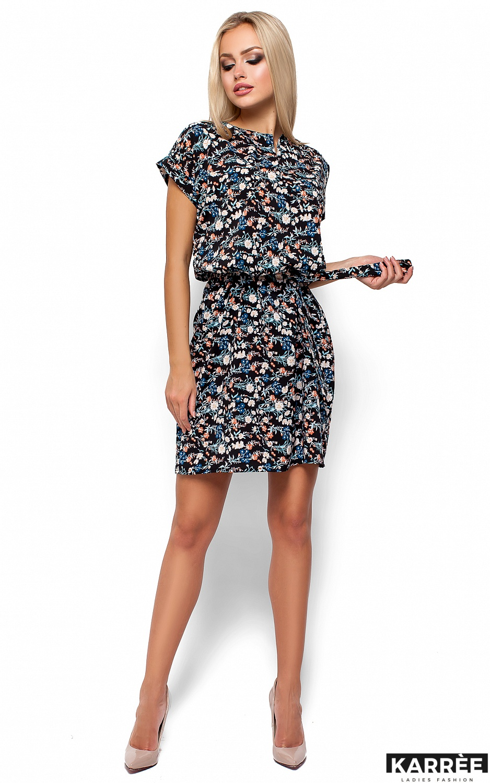 Платье Лайла, Черный - фото 1