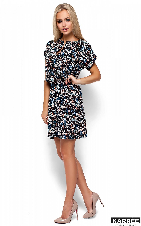 Платье Лайла, Черный - фото 4