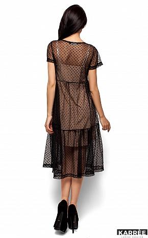 Платье Джина, Черный - фото 3