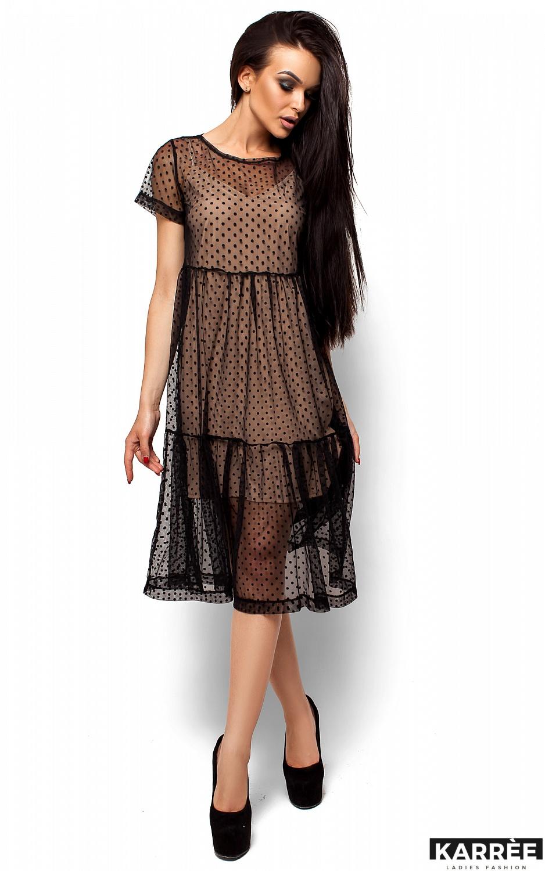 Платье Джина, Черный - фото 1