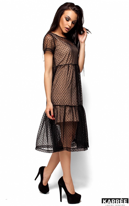 Платье Джина, Черный - фото 4
