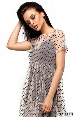 Платье Джина, Бежевый
