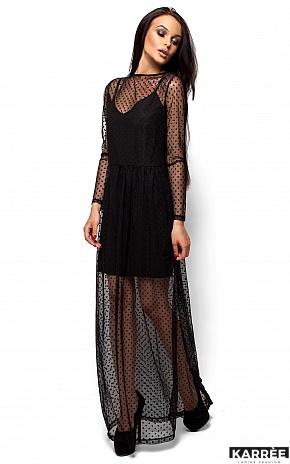 Платье Маниша, Черный - фото 3