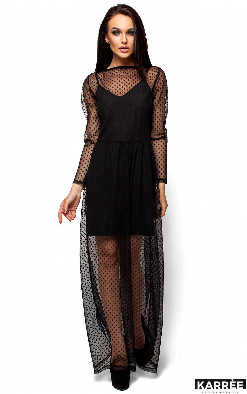 Платье Маниша, Черный - фото 1