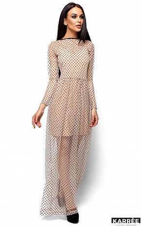 Платье Маниша, Бежевый - фото 4