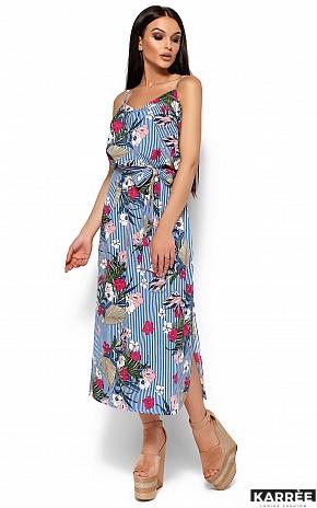 Платье Мари, Синий - фото 3