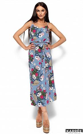 Платье Мари, Синий - фото 1