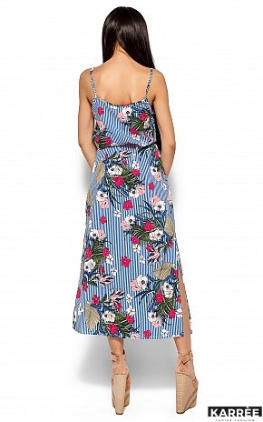 Платье Мари, Синий - фото 4
