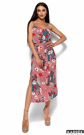 Платье Мари, Красный - фото 1