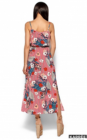 Платье Мари, Красный - фото 4