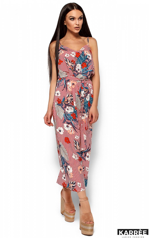 Платье Мари, Красный - фото 3