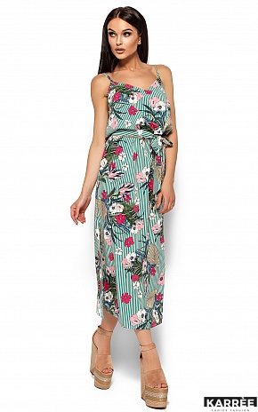 Платье Мари, Зеленый - фото 5