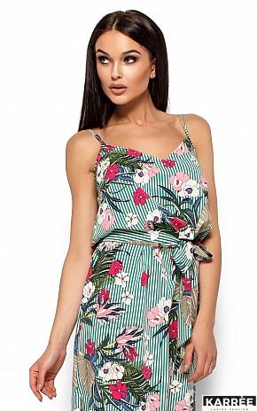 Платье Мари, Зеленый - фото 2