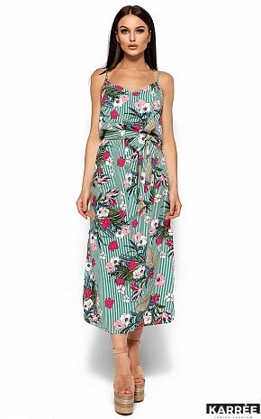 Платье Мари, Зеленый - фото 3