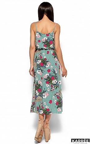 Платье Мари, Зеленый - фото 4