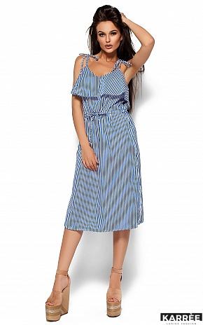Платье Бохо, Синий - фото 5