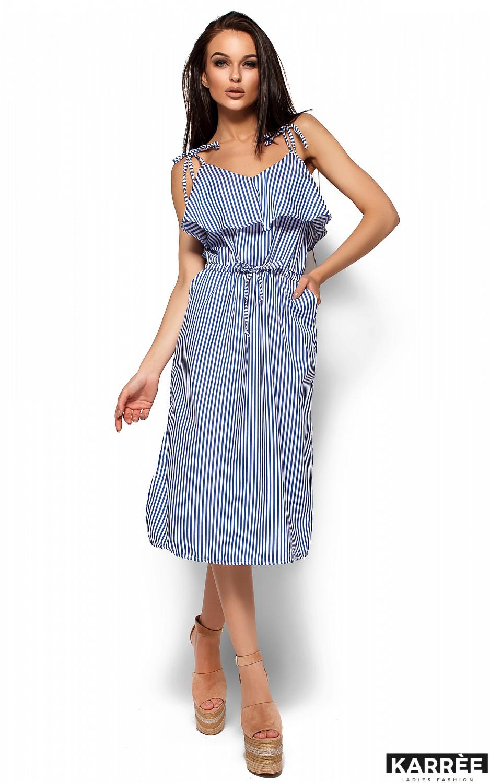 Платье Бохо, Синий - фото 1