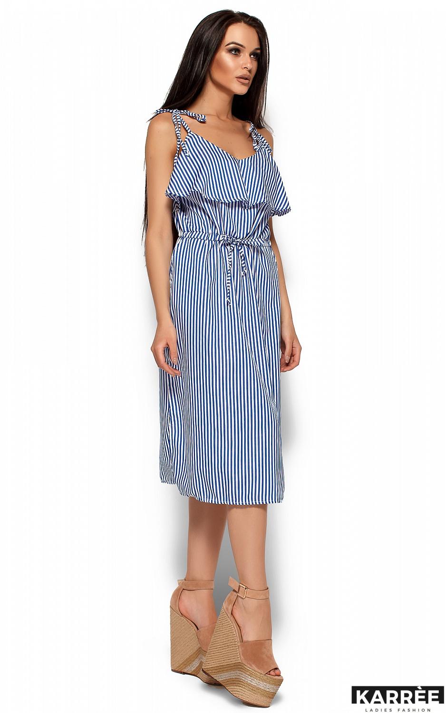 Платье Бохо, Синий - фото 3