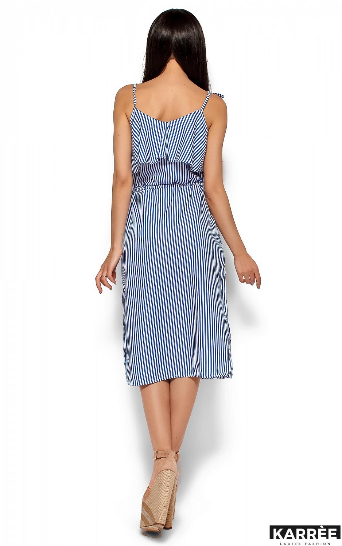 Платье Бохо, Синий - фото 4