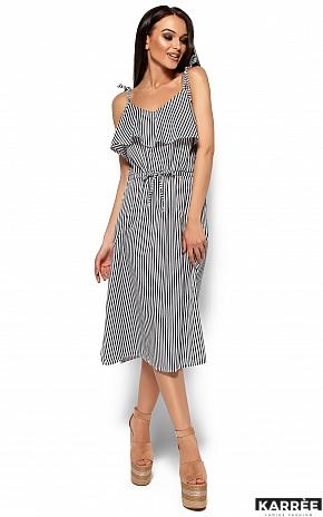 Платье Бохо, Черный - фото 4