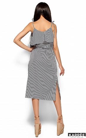Платье Бохо, Черный - фото 3