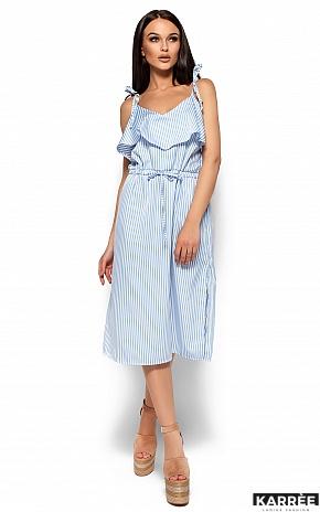 Платье Бохо, Голубой - фото 4
