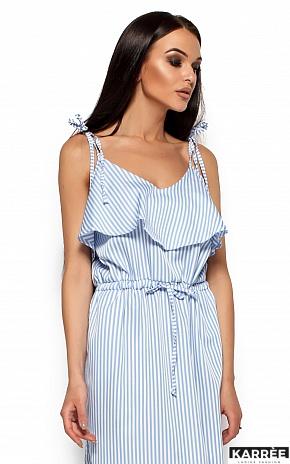 Платье Бохо, Голубой - фото 2
