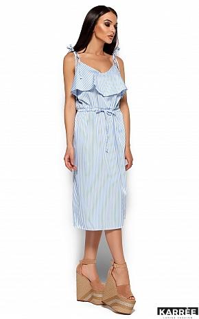 Платье Бохо, Голубой - фото 5