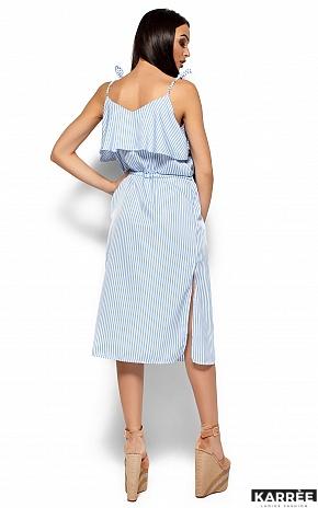 Платье Бохо, Голубой - фото 3