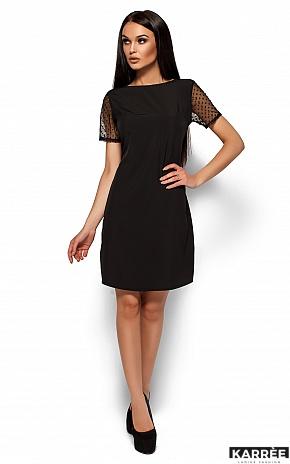 Платье Шанхай, Черный - фото 1