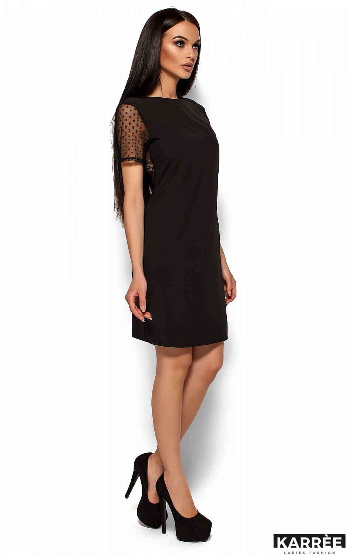 Платье Шанхай, Черный - фото 3
