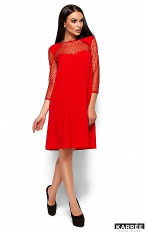 Платье Рина, Красный - фото 1
