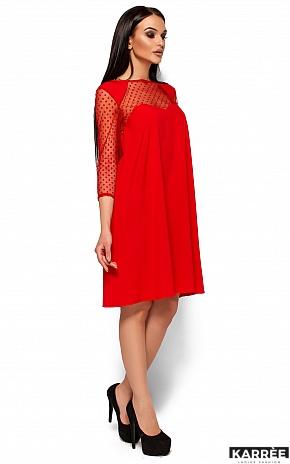 Платье Рина, Красный - фото 4