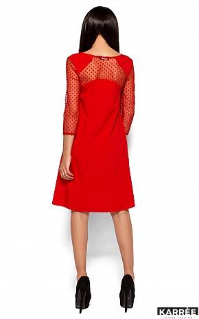 Платье Рина, Красный - фото 3