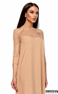 Платье Рина, Бежевый
