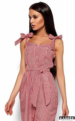 Платье Илона, Красный