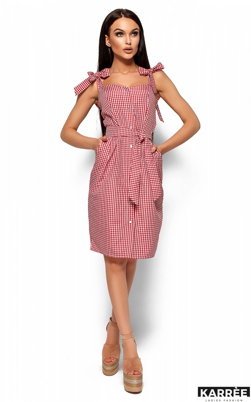 Платье Илона, Красный - фото 1