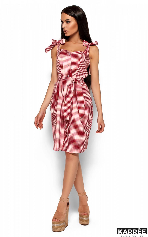 Платье Илона, Красный - фото 4