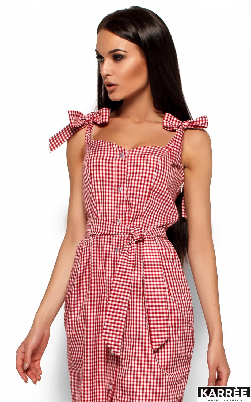 Платье Илона, Красный - фото 2