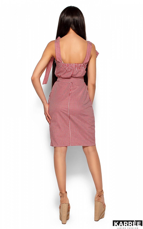 Платье Илона, Красный - фото 3