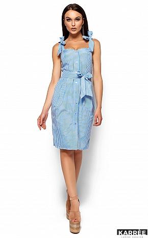 Платье Илона, Голубой - фото 1