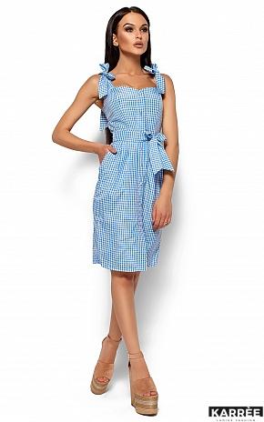 Платье Илона, Голубой - фото 4