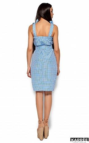 Платье Илона, Голубой - фото 3
