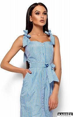 Платье Илона, Голубой