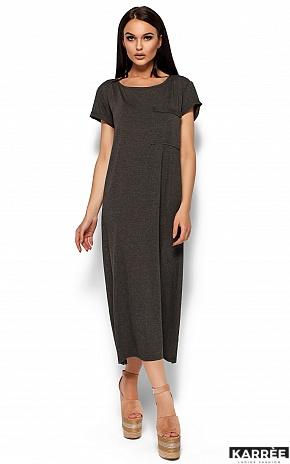 Платье Гвинет, Темно-серый - фото 3
