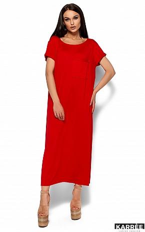 Платье Гвинет, Красный - фото 1