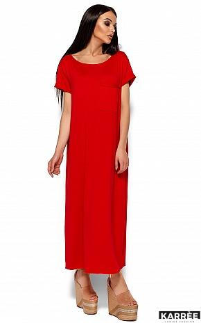 Платье Гвинет, Красный - фото 4