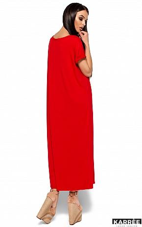 Платье Гвинет, Красный - фото 3